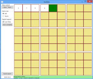 Sudoku C# WPF Spiel