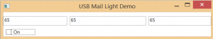 Usb Mail Light Demo WPF