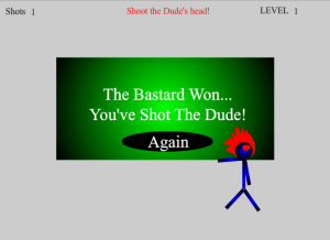 Shoot The Dude Flash Game